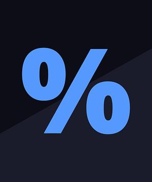 Soldes %